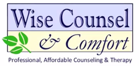 Wise Counsel and Comfort Portland therapist logo